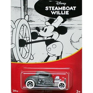 HotWheels Mickey Mouse 90th Anniversary:1932 Ford (Steamboat Willie)(グレー)|grease-shop