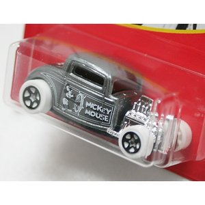 HotWheels Mickey Mouse 90th Anniversary:1932 Ford (Steamboat Willie)(グレー)|grease-shop|02