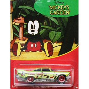 HotWheels Mickey Mouse 90th Anniversary:1957 Plymouth Fury (Mickey's Garden)(グリーン)|grease-shop