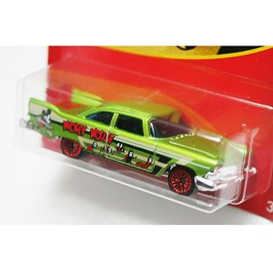 HotWheels Mickey Mouse 90th Anniversary:1957 Plymouth Fury (Mickey's Garden)(グリーン)|grease-shop|02