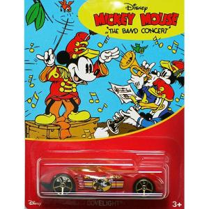 HotWheels Mickey Mouse 90th Anniversary:Covelight (The Band Concert)(レッド)|grease-shop