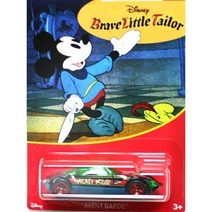 HotWheels Mickey Mouse 90th Anniversary:Avant Grade (Brave Little Tailor)(ブラック)|grease-shop