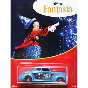 HotWheels Mickey Mouse 90th Anniversary:1940 Ford Coupe (Fantasia)(ブルー)|grease-shop