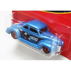 HotWheels Mickey Mouse 90th Anniversary:1940 Ford Coupe (Fantasia)(ブルー)|grease-shop|02