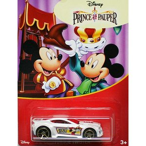 HotWheels Mickey Mouse 90th Anniversary:Torque Twister (The Prince and the Pauper)(ホワイト)|grease-shop|01