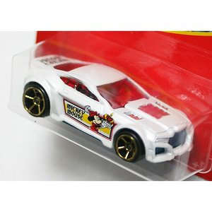 HotWheels Mickey Mouse 90th Anniversary:Torque Twister (The Prince and the Pauper)(ホワイト)|grease-shop|02