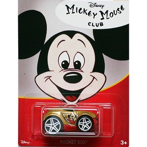 HotWheels Mickey Mouse 90th Anniversary:Rocket Box (Mickey Mouse Club)(ゴールド)|grease-shop