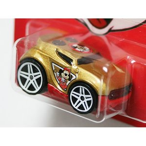 HotWheels Mickey Mouse 90th Anniversary:Rocket Box (Mickey Mouse Club)(ゴールド)|grease-shop|02