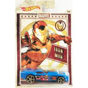 Hot Wheels Marvel:The Gov'ner (アイアンマン/Iron Man)(ブルー)|grease-shop