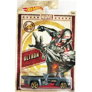 Hot Wheels Marvel:Solid Muscle (ウルトロン/Ultron)(グレー)|grease-shop