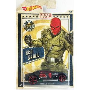 Hot Wheels Marvel:Bully Goat(レッド・スカル/Red Skull)(ブラック)|grease-shop