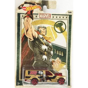 Hot Wheels Marvel:Time Shifter(ソー/Thor)(ゴールド/レッド)|grease-shop
