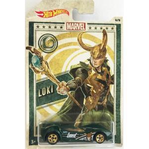 Hot Wheels Marvel:Scoopa di Fuego(ロキ/Loki)(グリーン)|grease-shop