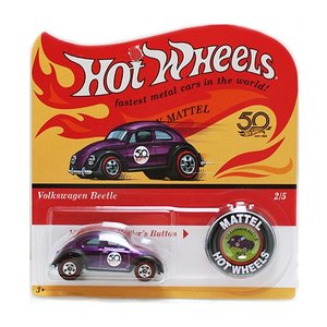 Hot Wheels 50th Original Collection:Volkswagen Beetle (フォルクスワーゲン・ビートル)(パープル)|grease-shop
