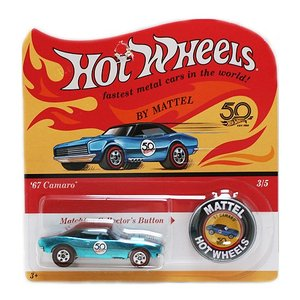 Hot Wheels 50th Original Collection:1967 Camaro (カマロ)(ブルー)|grease-shop