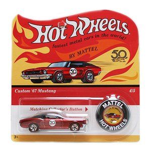 Hot Wheels 50th Original Collection:Custom 1967 Mustang (カスタム・マスタング)(レッド)|grease-shop