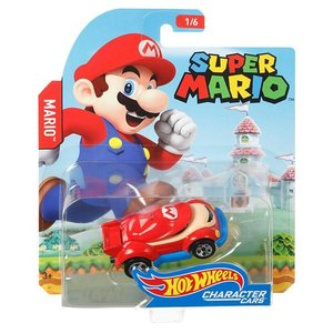 Hot Wheels Super Mario:スーパーマリオ・マリオ(Mario/マリオ)|grease-shop