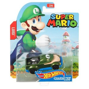 Hot Wheels Super Mario:スーパーマリオ・ルイージ(Luigi/ルイージ)|grease-shop
