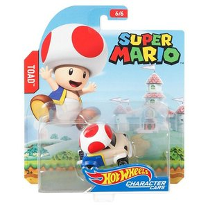 Hot Wheels Super Mario:スーパーマリオ・トード(Toad/キノピオ)|grease-shop