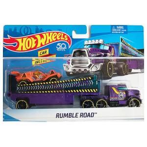 Hot Wheels Super Rig:Rumble Road (ランブル・ロード)(パープル)|grease-shop