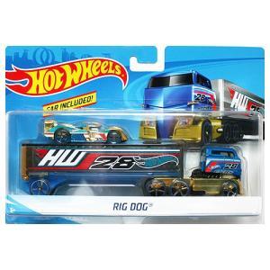 Hot Wheels Super Rig:Rig Dog (リグ・ドッグ)(ブルー/ゴールド)|grease-shop