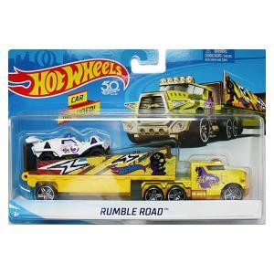 Hot Wheels Super Rig:Rumble Road (ランブル・ロード)(イエロー)|grease-shop