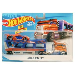 Hot Wheels Super Rig:Road Rally (ロード・ラリー)(ブルー/オレンジ)|grease-shop