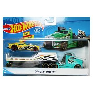 Hot Wheels Super Rig:Drivin' Wild (ドライビン・ワイルド)(グリーン)|grease-shop