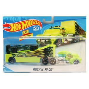 Hot Wheels Super Rig:Rock N' Race (ロックン・レース)(グリーン)|grease-shop