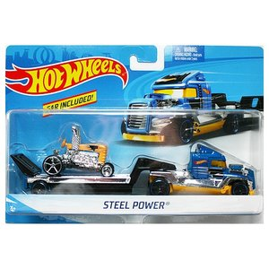 Hot Wheels Super Rig:Steel Power (スチール・パワー)(ブルー/イエロー)|grease-shop