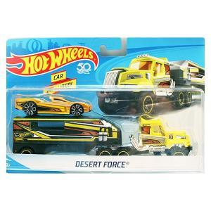 Hot Wheels Super Rig:Desert Force (デザート・フォース)(イエロー/ブラック)|grease-shop
