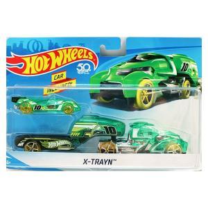 Hot Wheels Super Rig:X-Trayn (X-トレイン)(グリーン)|grease-shop