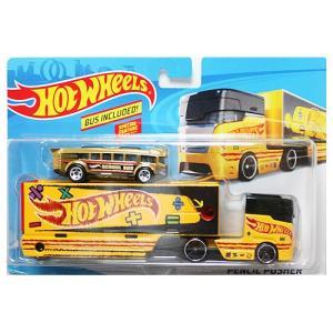 Hot Wheels Super Rig:Pencil Pusher (ペンシル・プッシャー)(イエロー)|grease-shop
