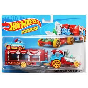 Hot Wheels Super Rig:Car-Nival Steamer (カーニバル・スチーマー)(レッド/ブルー)|grease-shop