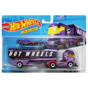 Hot Wheels Super Rig:Big Rig Heat (ビッグ・リグ・ヒート)(パープル)|grease-shop