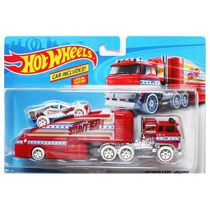 Hot Wheels Super Rig:Stuntin' Semi (スタンティン・セミ)(レッド/ホワイト)|grease-shop