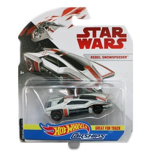 スターウォーズ・カーシップス・ミニカー:レベル・スノースピーダー (Star Wars:Rebel Snowspeeder)|grease-shop