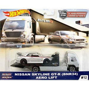 Hot Wheels Team Transport:Nissan Skyline GT-R (BNR...