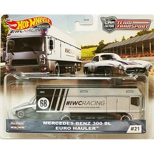 Hot Wheels Team Transport:Mercedes Benz 300SL / Eu...