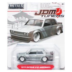 Jada Toys 1/64 : 1973 Nissan 510(WideBody) (ニッサン・510)(シルバー)|grease-shop