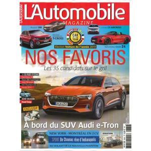 洋雑誌:L'Automobile 2018年9月号 (フランス版/オートモービル)|grease-shop