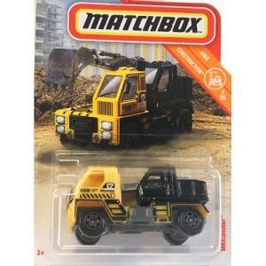 matchbox:MBX ・カーベター(MBX Cavator)(イエロー/ブラック)|grease-shop