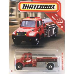 matchbox:フレイトライナー・M2・106(Freightliner M2 106)(レッド)|grease-shop