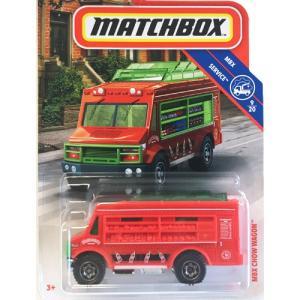 matchbox:MBX・チャウ・ワゴン(MBX Chow Wagon)(レッド)|grease-shop