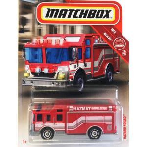 matchbox:ハザード・スクアッド(Hazard Squad)(レッド)|grease-shop