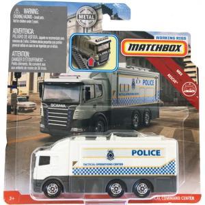 matchbox working rigs:スカニア・タクティカル・コマンド・センター(Scania Tactical Command Center)(ホワイト)|grease-shop