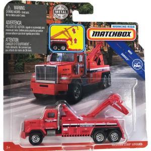 matchbox working rigs:ウェスタンスター・6900XD(Western Star 6900XD)(レッド)|grease-shop