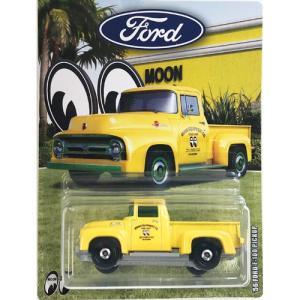 matchbox:1956・フォード・F-100・ピックアップ(1956 Ford F-100 Pickup)(イエロー)|grease-shop