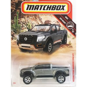 matchbox:ニッサン・タイタン・ウォーリア・コンセプト(Nissan Titan Warrior Concept)(メタリックグレイ)|grease-shop