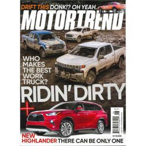 洋雑誌:Motor Trend 2019年6月号(米国版 / モーター・トレンド)【日付/時間指定・不可】 grease-shop